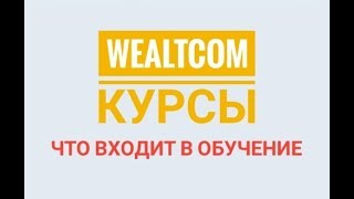 WealTcom-КУРСЫ.Что входит в обучение.