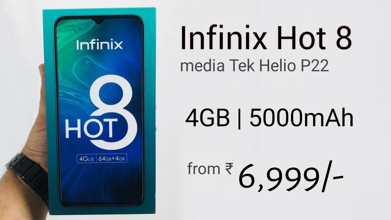 Image result for infinix hot 8 on youtube