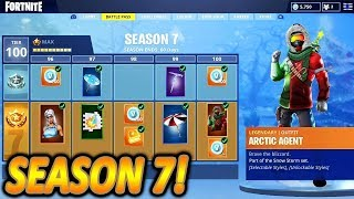 NEW SEASON 7 BATTLE PASS COMES!❄️🔥 | NEW GUAN YU SKIN IN SHOP | Fortnite Battle Royale