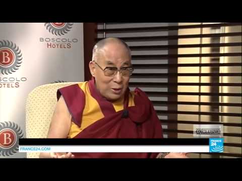 A wonderful 25 minutes interview with His Holiness the 14th