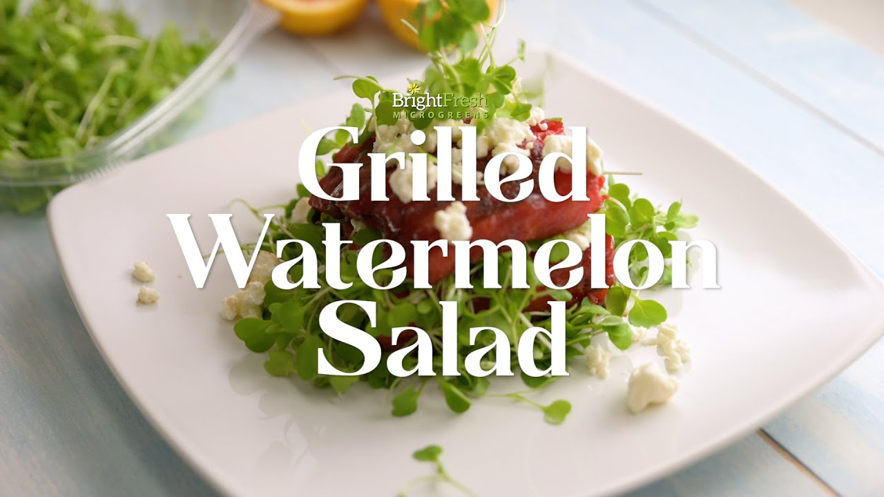 Grilled and Sizzlin' Watermelon Salad