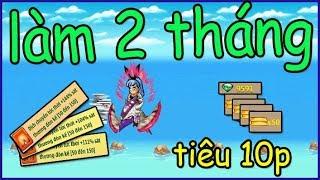 Ngọc Rồng Online - Vứt 2 tháng lương ytb mở toàn nội tại bằng ngọc cho sét songoku nhói lòng
