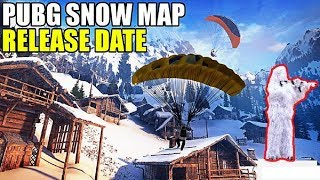 PUBG SNOW Map Release Date confirmed !! Snow Ghillie suit coming !!