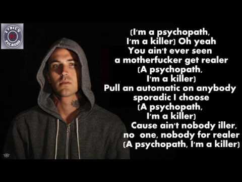 Slaughterhouse & Yelawolf - Psychopath Killer (feat. Eminem) [Lyrics]