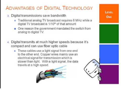 Advantages of Digital Technology