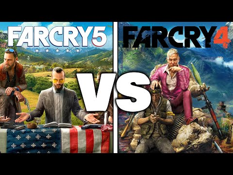 Which Game Is Better? Far Cry 4 Vs Far Cry 5