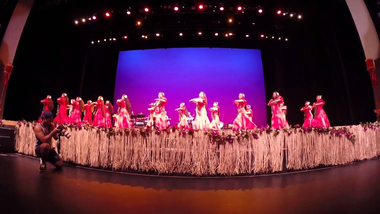2014 Ho'ike: Ladies of Apetahi dancing to AIA KA LA'I I KAUIKI