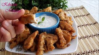 Çıtır soslu tavuk kalamar tarifi - Sodalı çıtır tavuk kızartması nasıl yapılır | Yemek tarifleri