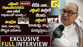 Nadendla Bhaskar Rao Serious On Ntr Biopic Over His Role || Balakrishna || Krish || Mirror Tv