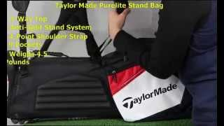 Updated and still lightweight! The PureLite Stand Golf Bag 2014 has...