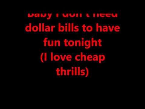 Sia-Cheap Thrills Testo/karaoke