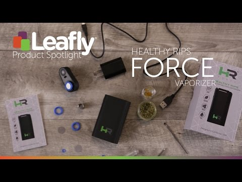 FORCE Convection Dry Herb Vaporizer by Healthy Rips Vaporizers – Product Spotlight
