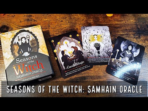Download Seasons of the Witch Samhain Oracle   Unboxing and Flip Through
