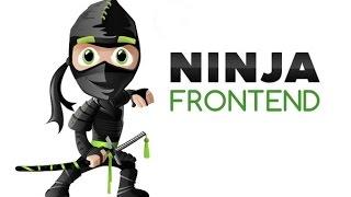 Ninja Frontend - занятие 15 | Уроки создания сайтов с нуля | Курсы HTML/CSS | Верстка сайтов