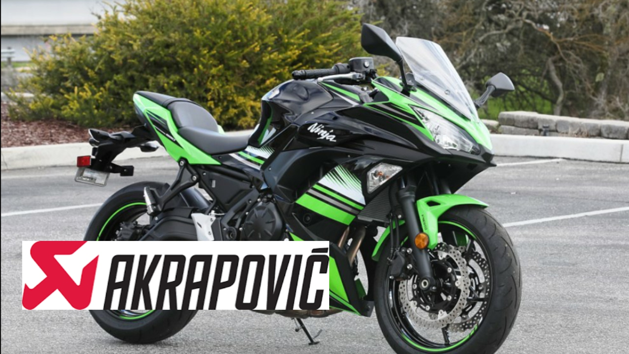 2017 kawasaki ninja 650 exhaust akrapovic - youtube