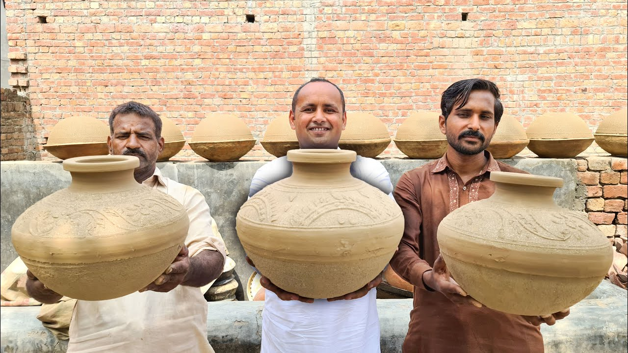 Pot Making With CLAY | Clay Pot | Amazing Talent of Pakistan Potter in Village | Small Industries