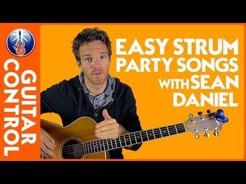 Easy Strum Party Songs with Sean Daniel | Guitar Control
