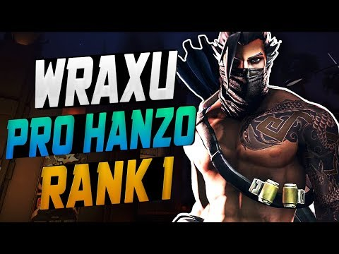 WRAXU BEST HANZO IN THE WORLD! 50 ELIMS! [ OVERWATCH SEASON 10 TOP 500 ] thumbnail