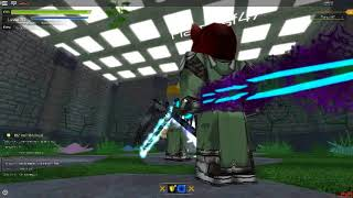 Roblox:(Swordburst 2)How to get lvl 72 2h sword and skull mask
