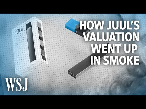 How Juul's Valuation Fell by Over $33 Billion in Two Years   WSJ