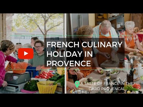 Week in Uzes - French Culinary Vacation in the South of France (Gard Provençal)