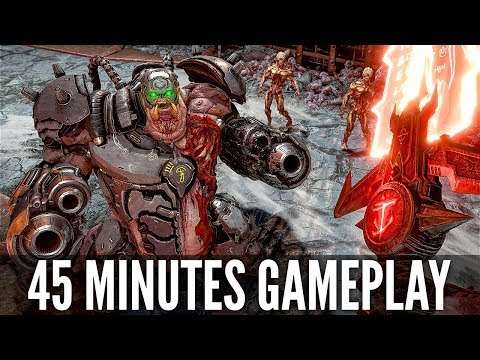 DOOM ETERNAL Gameplay Demo NEW 45 Minutes [4K 60FPS PC] - No Commentary