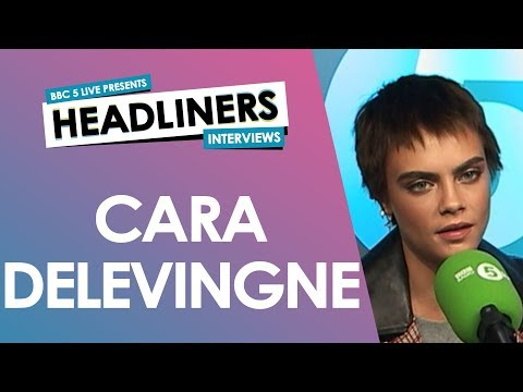 Cara Delevingne on writing her first novel, body image and being a romantic