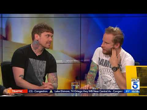 """Brent Smith & Zach Myers Talk New Album """"Attention Attention"""""""