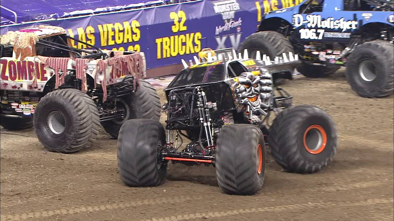 Monster Jam - Max-D Freestyle in Detroit - January 11 ...
