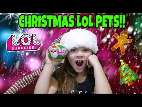 Christmas LOL Pets! New Series?!?!?!?