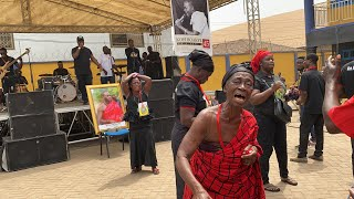 Tears As Band Performs Kofi B's Song At His Funeral