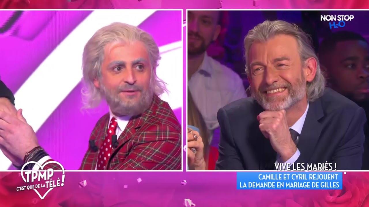 Camille Combal parodie la demande en mariage de Gilles Verdez à Fatou