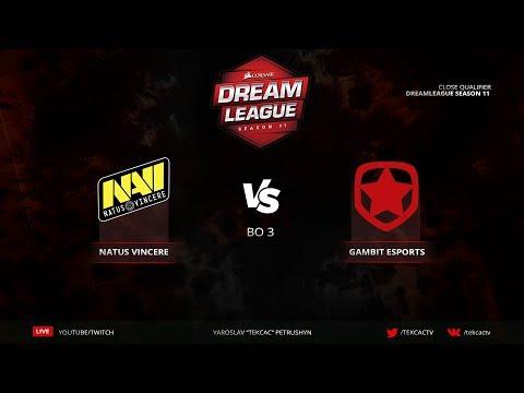 Natus Vincere vs Gambit   Bo3   DreamLeague Season 11 Close QL @Tekcac [RU] thumbnail