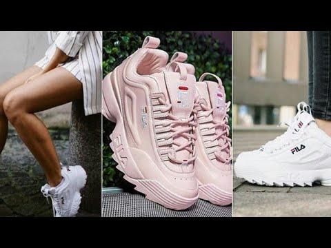 23ca52674d12c Haul Sneakers Fila 😍😍 للبنات