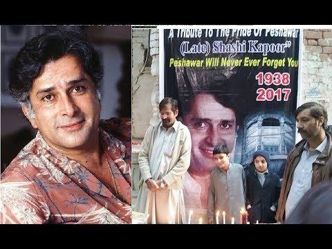 People of Peshawar, Pakistan Pay tribute to Shashi Kapoor