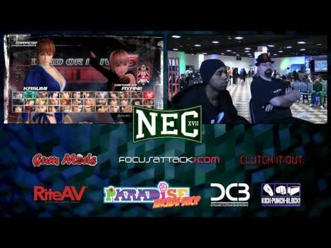 NEC Day 1 DOA5:LR Pool Play & USFIV Top 8