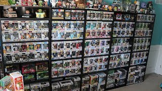 Rearranging my Funko Pops + New Shelf