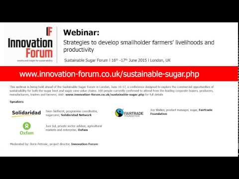 Strategies to develop smallholder farmers' livelihoods and productivity