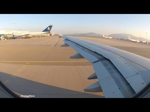 Takeoff From Athens To Paris With Aegean Airlines A320-232 SX-DVW