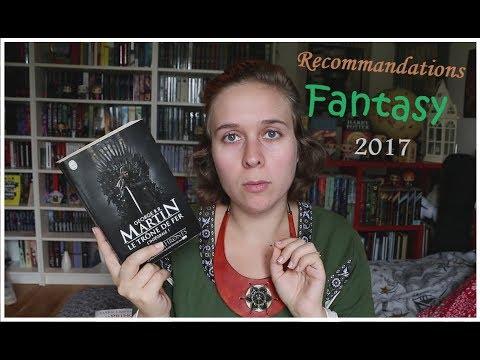 Recommandations Fantasy 2017