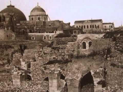 סרט נדיר על ירושלים המכיל תמונות ישנות ונדירות של העיר הקדושה מ-1853 והלאה