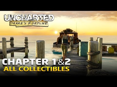 Uncharted Drake's Fortune Remastered Walkthrough - Chapter 1 & 2 (1080p 60 FPS)