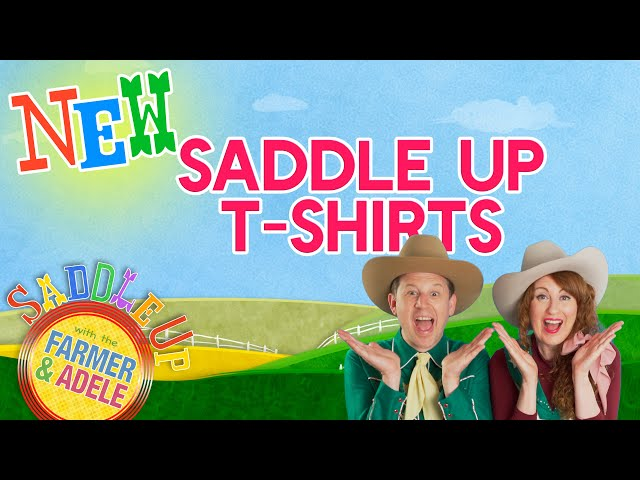 Saddle Up with The Farmer & Adele Have T-Shirts