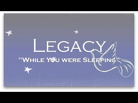 While You Were Sleeping - Casting Crowns Acappella Cover by Legacy (Lyric Video)