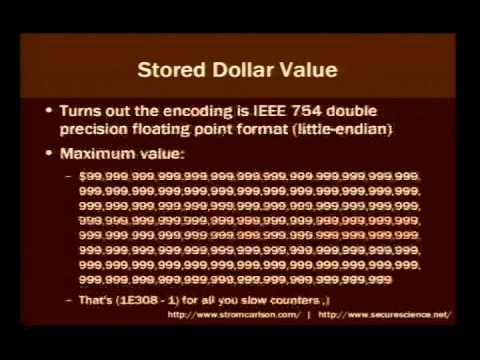 DEF CON 14 - Strom Carlson: Hacking FedEx Kinko's: How Not To Implement Stored-Value Card Systems