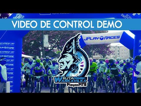 RUTA WANKAVILKA: Video DEMO de Control Salida y Llegada
