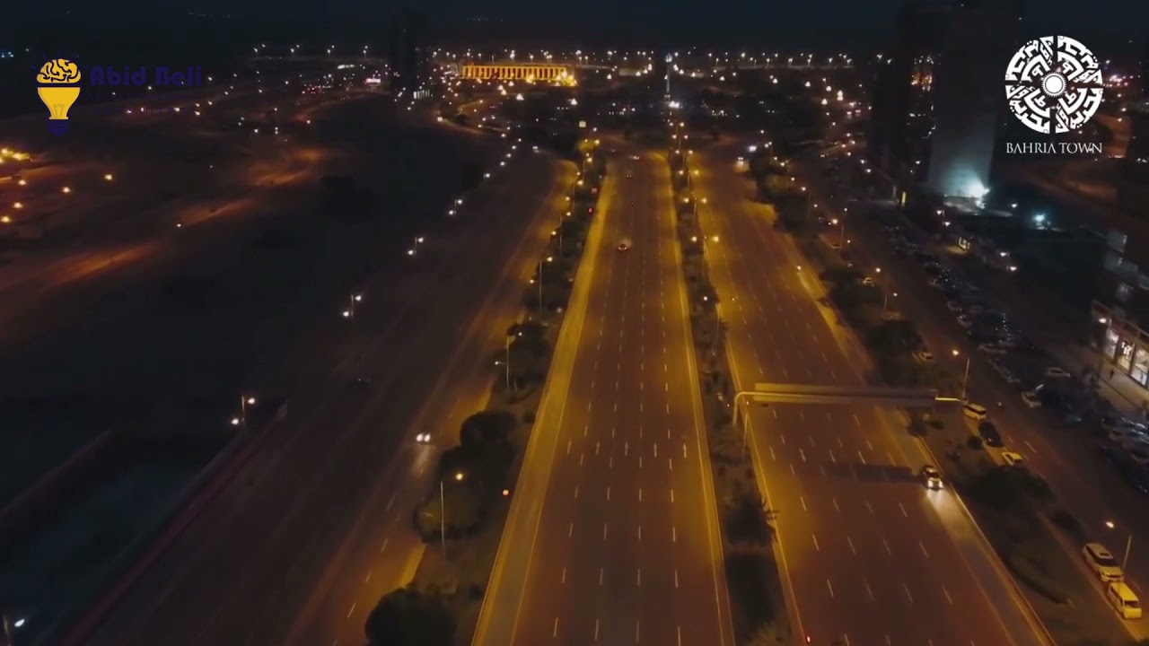 Pakistan's Biggest Private Avenue of 18 Lane, 400ft Wide Jinnah Avenue in BTK