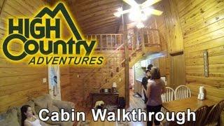 High Country Adventures Ocoee, TN - CABIN walkthrough