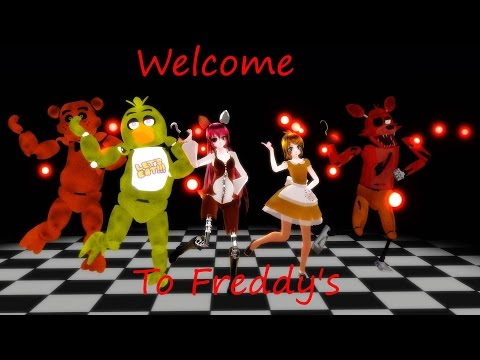 [MMD/FNAF] Welcome To Freddy's