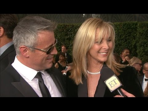 Matt LeBlanc and Lisa Kudrow Have a 'Friends' Reunion at the Emmys!